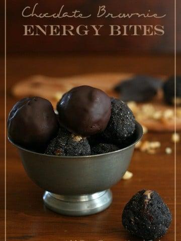 Low Carb Chocolate Energy Bites Recipe