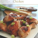 Low Carb Ginger Pear Chicken