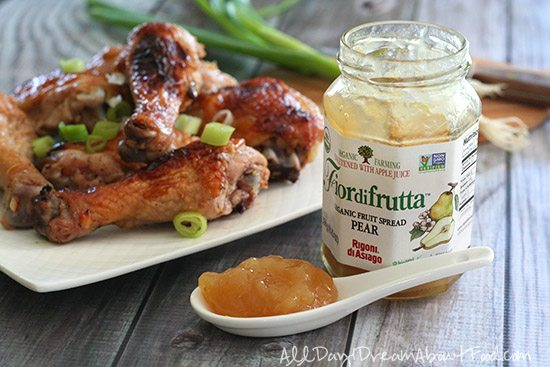 Paleo Ginger Pear Glazed Chicken