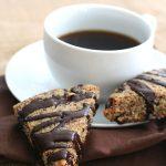 Low Carb Hazelnut Chocolate Chip Scones