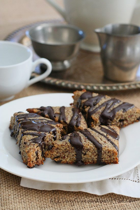Gluten-Free Hazelnut Chocolate Chip Scones