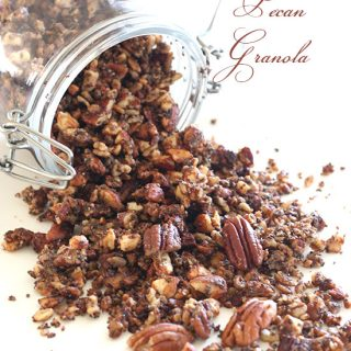 Low Carb Maple Pecan Granola