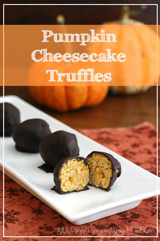 Low Carb Pumpkin Cheesecake Truffles Recipe | All Day I Dream About ...