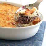 Low Carb Cheesy Shepherd's Pie Recipe