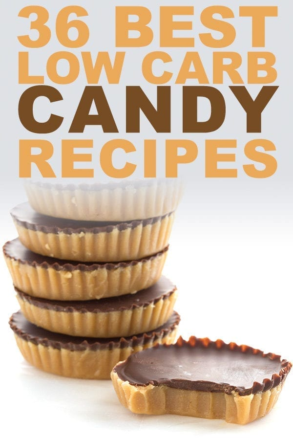 Low Carb Candy Recipes - keto peanut butter cups