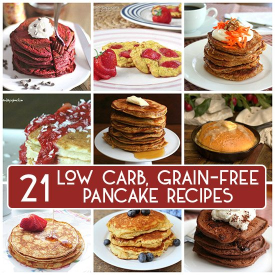 Best Low Carb Grain-Free Pancake Recipes