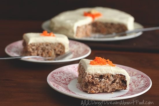 Low Carb Sugar-Free Carrot Cake Recipe