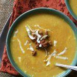 Low Carb Southwestern Pumpkin Cheddar Soup Recipe