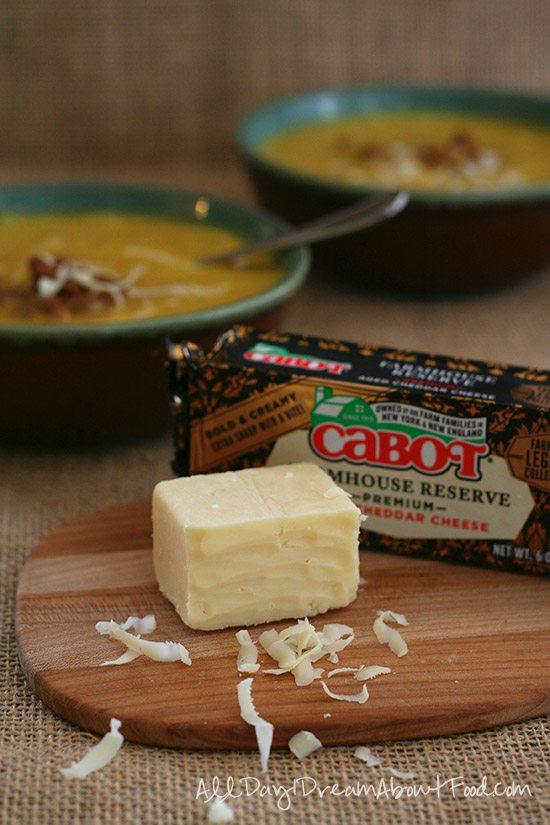 Low Carb Slow Cooker Pumpkin Cheddar Soup