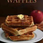 Low Carb Apple Cinnamon Waffles
