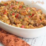 Low Carb Cheddar Beer Bread & Sausage Stuffing