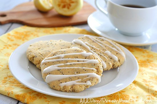 Low Carb Grain Free Lemon Breakfast Cookies Recipe