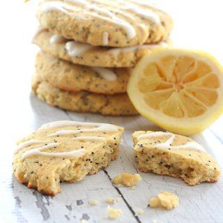 Low Carb Lemon Poppyseed Breakfast Cookies
