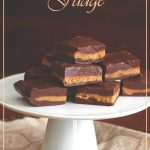 Low Carb Chocolate Peanut Butter Cup Fudge