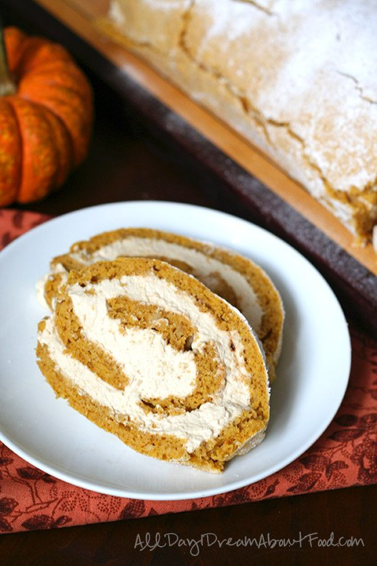 Grain-Free Sugar-Free Pumpkin Roll Recipe