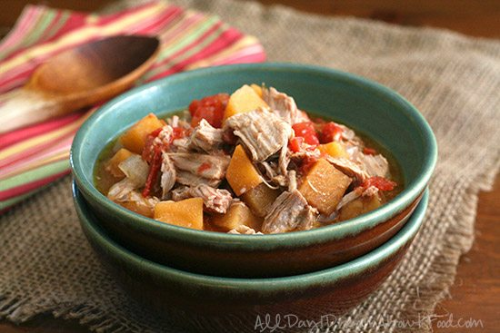 Low Carb Slow Cooker Southwestern Pork Stew