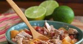 Low Carb Crockpot Southwestern Pork Stew Recipe