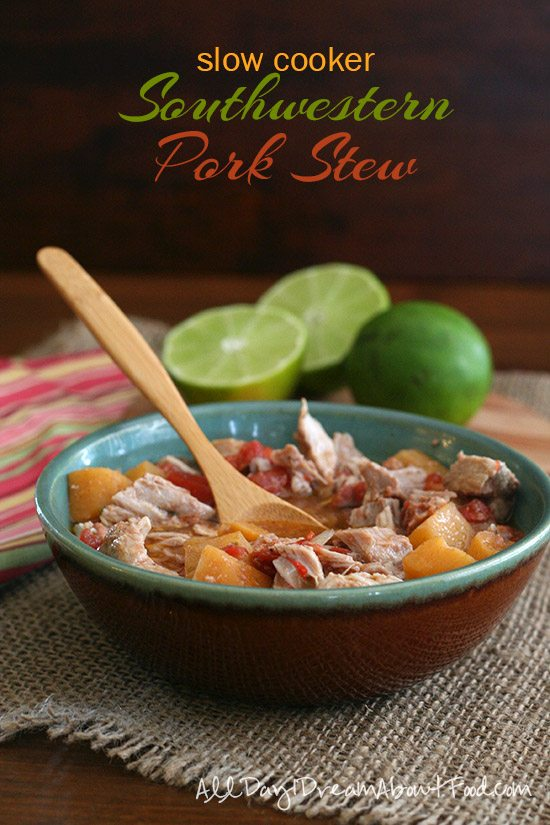 Low Carb Crockpot Southwestern Pork Stew Recipe