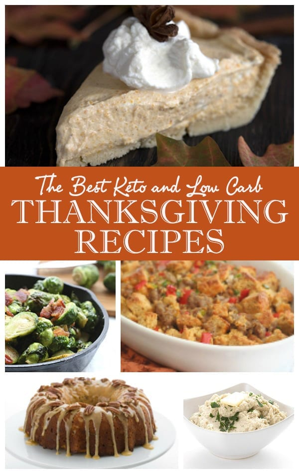 The Ultimate Low Carb Keto Thanksgiving Recipes