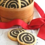 Low Carb Chocolate Pinwheel Cookies