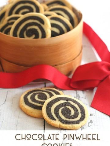Low Carb Chocolate Pinwheel Cookies