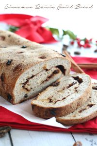 Low Carb Cinnamon Raisin Swirl Bread
