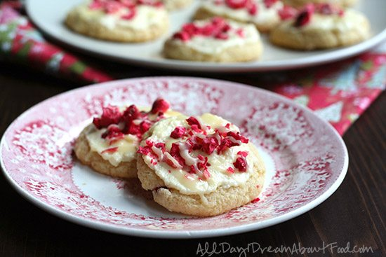 Low Carb Cranberry Sugar Cookies Sugar-Free