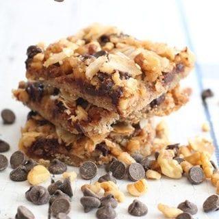 Salted Caramel Magic Cookie Bars