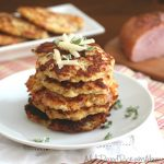 Low Carb Gluten Free Cauliflower Fritter Recipe