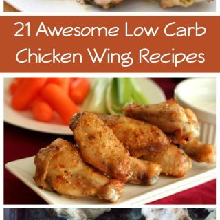 21 Awesome Low Carb Chicken Wing Recipes