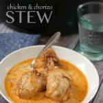 Low Carb Chicken & Chorizo Stew