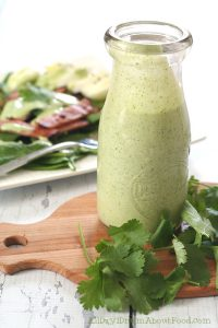 Low Carb Cilantro Ranch Dressing
