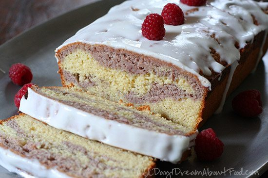 Low Carb Pound Cake Recipes: Low Carb Raspberry Swirl Pound Cake Recipe