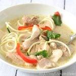 Low Carb Paleo Thai Chicken Soup Recipe