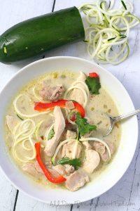 Low Carb Chicken Curry Soup Recipe