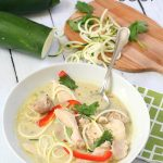 Paleo Thai Chicken Noodle Soup Recipe