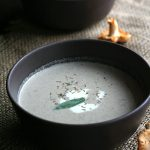 Low Carb Wild Mushroom Soup with Creme Fraiche