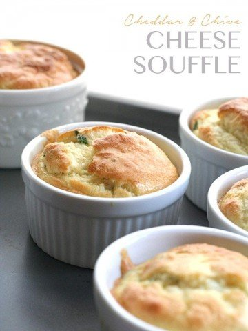 Low Carb Cheese Souffle Recipe
