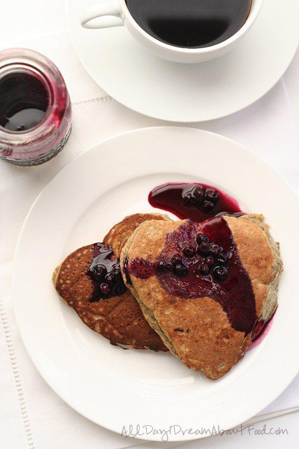 Low Carb Gluten-Free Blender Pancake Recipe