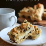 Low Carb Grain-Free Chocolate Chip Cookie Cheesecake Bars