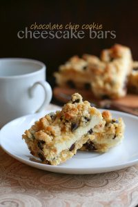 titled photo - Low Carb Grain-Free Chocolate Chip Cookie Cheesecake Bars