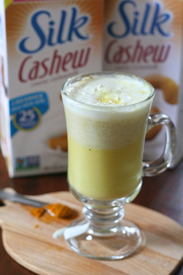 Golden Cashew Milk Recipe
