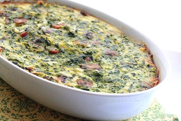 Low Carb Grain-Free Breakfast Casserole Recipe