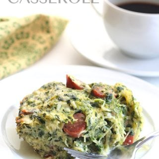 Low Carb Spaghetti Squash Breakfast Casserole