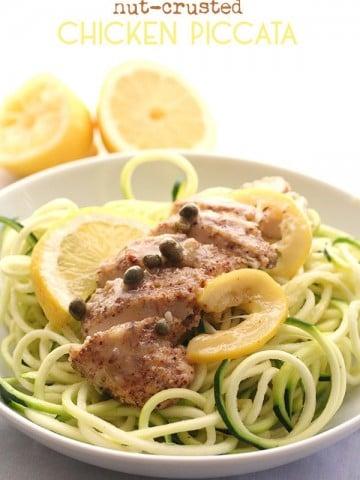 Low Carb Chicken Piccata Recipe