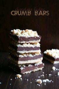Low Carb Keto Fudge Crumb Bar Recipe