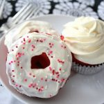 Low Carb Red Velvet Donuts
