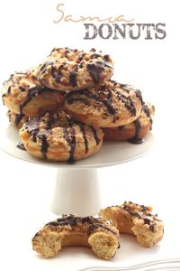 Low Carb Samoa Donuts