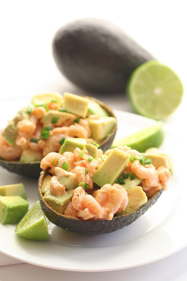 Low Carb Spicy Shrimp & Avocado Salad