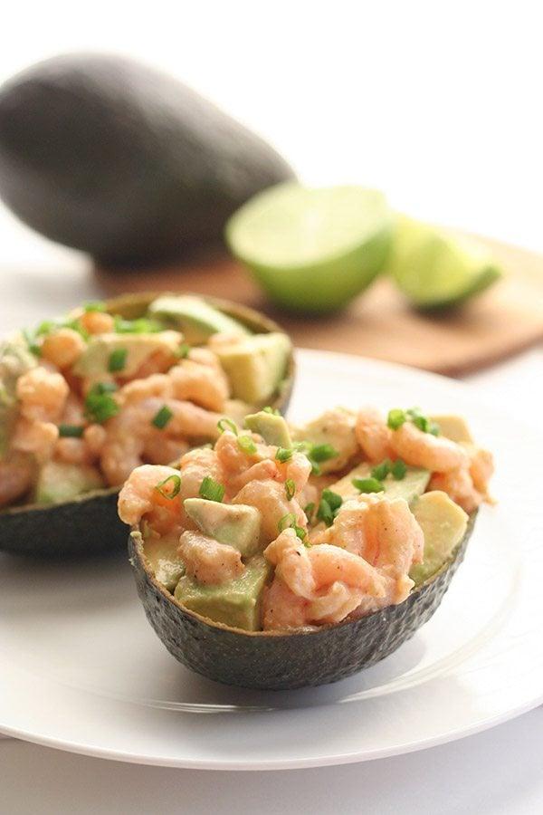 Paleo Shrimp Avocado Salad Recipe